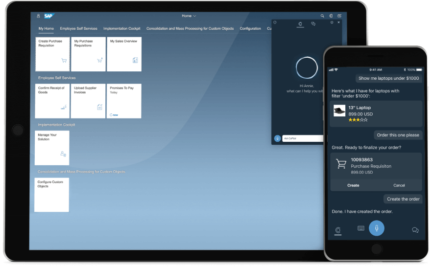 Integration in das SAP Fiori Launchpad